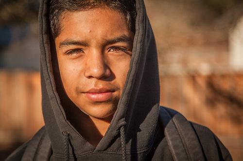 Fourteen year old neighbor, Javier Otero, Calistoga (Clark James Mishler)