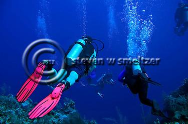 West Wall, Scuba Diving, Grand Cayman, Bonnie's Arch (Steven Smeltzer)