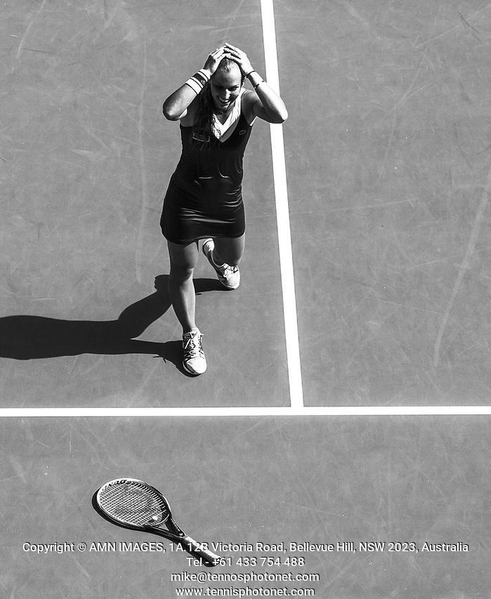 DOMINIKA CIBULKOVA (SVK) Tennis - Australian Open - Grand Slam -  Melbourne Park -  2014 -  Melbourne - Australia  - 23rd January 2013.  © AMN IMAGES, 1A.12B Victoria Road, Bellevue Hill, NSW 2023, Australia Tel - +61 433 754 488 mike@tennisphotonet.com www.amnimages.com International Tennis Photo Agency - AMN Images (FREY - AMN IMAGES)