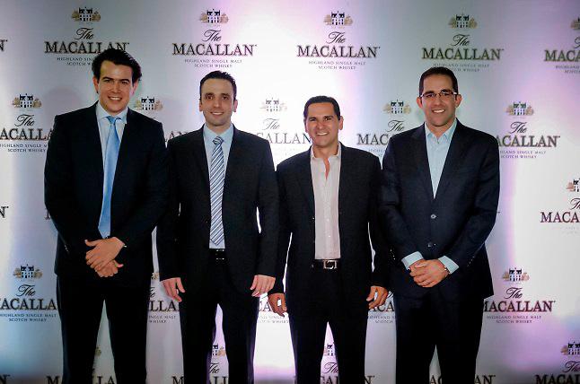 Manuel Singer, Antonio Lama, Victor Ortega y Gustavo Ortega