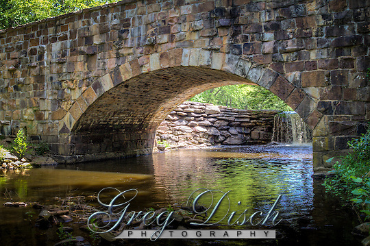 Stone bridge built by the CCC from native rock at Petit Jean State Park near Morilton Arkansas. (Greg Disch)