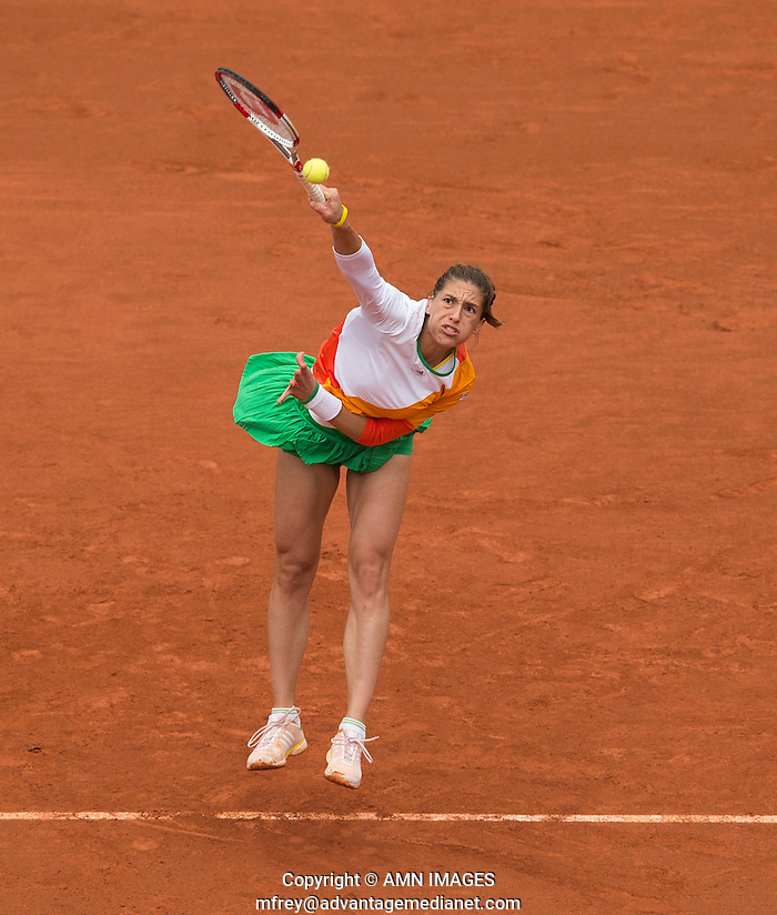 ANDREA PETKOVIC (GER) Tennis - French Open 2014 -  Toland Garros - Paris -  ATP-WTA - ITF - 2014  - France -  4th June 2014.  © AMN IMAGES (FREY/FREY- AMN Images)