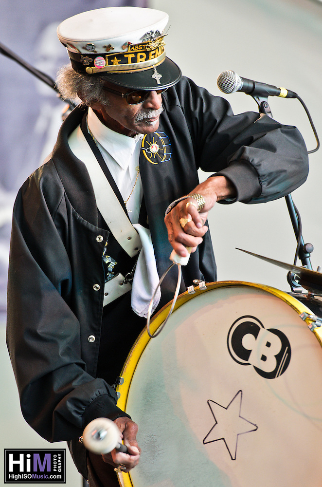 Treme Brass Band at the 2011 Voodoo Festival in New Orleans, LA. (Golden G. Richard III)