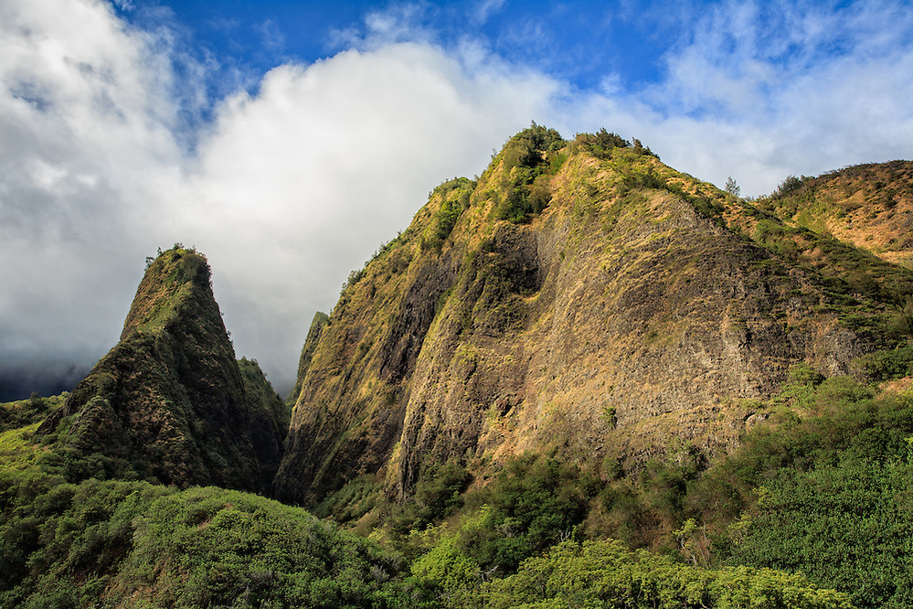 'Iao Valley and The Needle on Maui, where the great battle of Kepaniwai was fought in 1790 (Doug Oglesby)