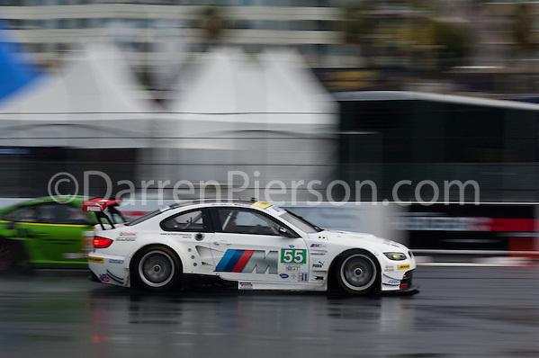 #55 BMW Team RLL BMW M3 GT: Bill Auberlen, Jorg Muller (Darren Pierson)