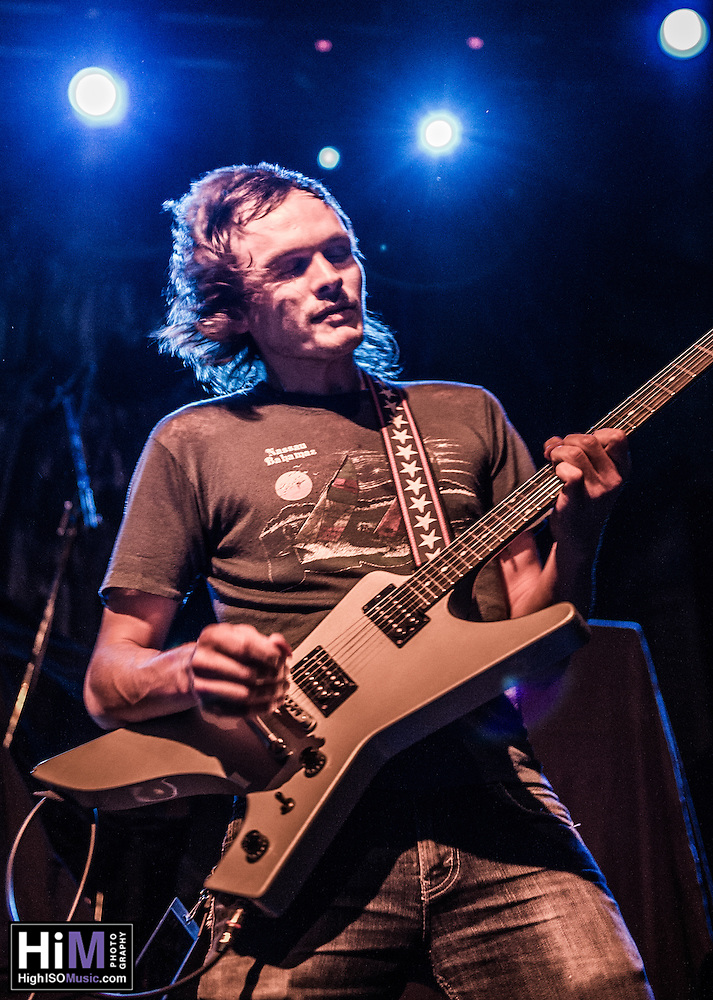 American Sharks opens for Gwar at the House of Blues in New Orleans, LA on October 24, 2014. (HIGH ISO Music, LLC)