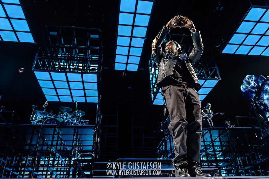 WASHINGTON, DC - January 16th, 2014 - Jay Z performs at the Verizon Center in Washington, D.C. as part of his Magna Carter World Tour. Jay Z's latest album, Magna Carter…Holy Grail was released by a mobile phone app in conjunction with Samsung and debuted at #1 on the Billboard 200 album charts.  (Photo by Kyle Gustafson /  For The Washington Post) (Kyle Gustafson/For The Washington Post)