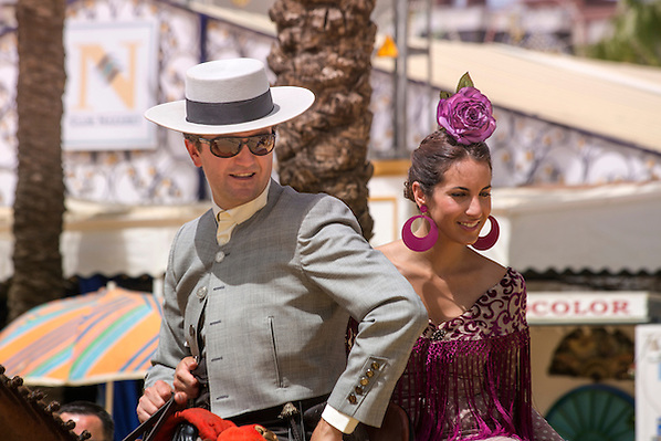 A scene at the Feria Del Caballo in Jerez Spain (David Henderson)