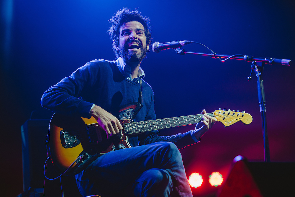 Photos of Devendra Banhart performing live at Atlantic Studios in Ásbrú for ATP Iceland 2014 in Keflavík, Iceland. July 12, 2014. Copyright © 2014 Matthew Eisman. All Rights Reserved (Matthew Eisman/Photo by Matthew Eisman)