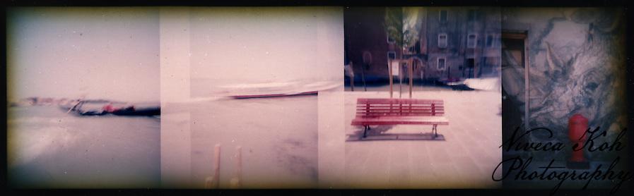 Holga film photographs shot in Venice, Italy (Viveca Koh)