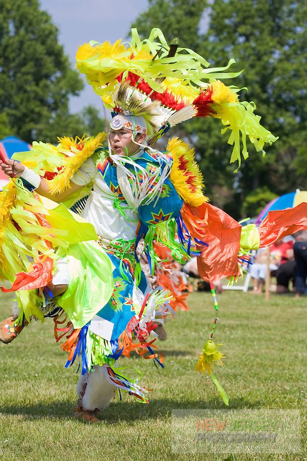 Traditional Fancy Dancer, at the Nanticoke Lenni-Lenapi Indian Pow Wow (Steve Greer / SteveGreerPhotography.com)