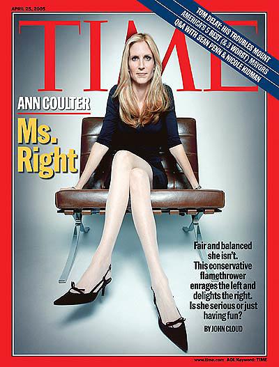 En la revista Time, presentada como la