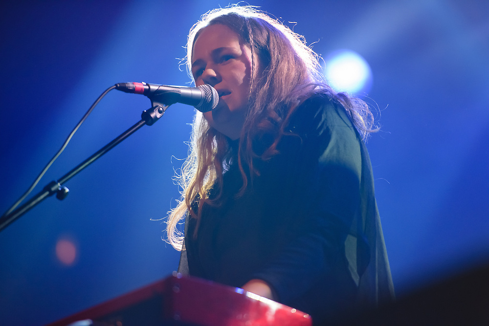 Photos of Alice Bowman performing live at Harpa Concert Hall during Iceland Airwaves Music Festival 2014 in Reykjavik, Iceland. November 6, 2014. Copyright © 2014 Matthew Eisman. All Rights Reserved (Matthew Eisman/Photo by Matthew Eisman)