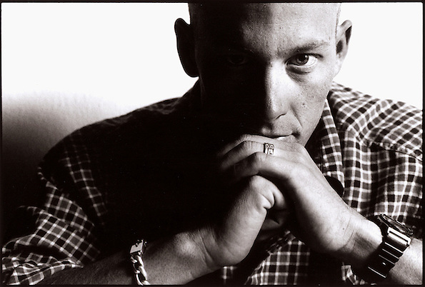 Lance Armstrong, photographed at home in Austin, Texas one month after cancer surgery in December 1996. Photograph © 1996 Darren Carroll. (Darren Carroll)