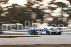 #06 CORE Autosport Oreca FLM09: Anthony Downs, Lucas Downs, Matt Downs (Darren Pierson)