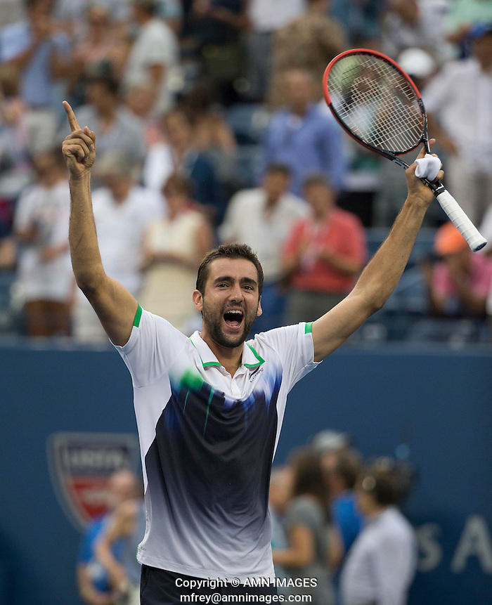 MARIN CILIC (CRO) The US Open Tennis Championships 2014 - USTA Billie Jean King National Tennis Centre -  Flushing - New York - USA -   ATP - ITF -WTA  2014  - Grand Slam - USA   6th September 2014.  © AMN IMAGES (FREY/FREY-AMN IMAGES)