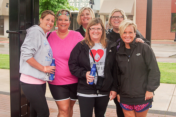 First annual French Fried 5k and Street Party held in Decatur, Illinois (George Strohl)