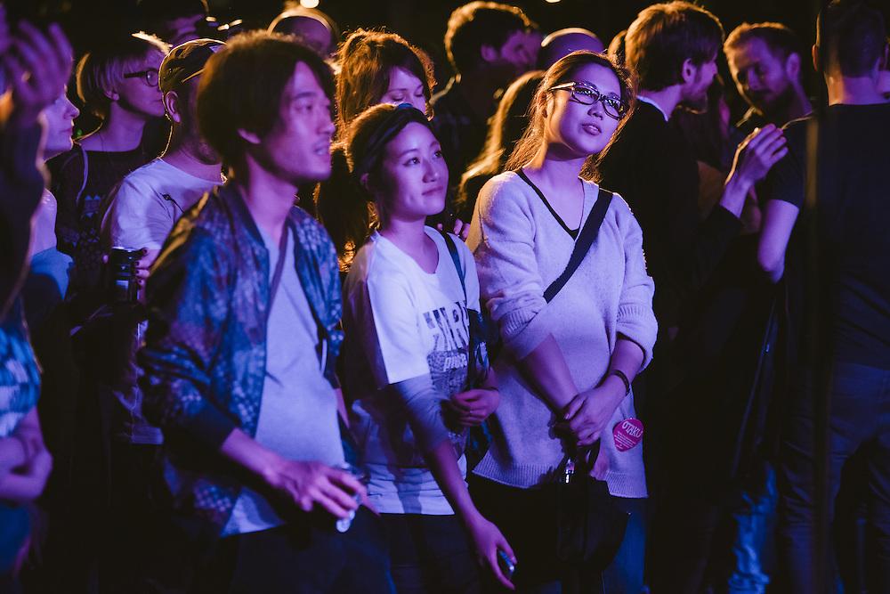 Photos of general atmosphere during Sónar Reykjavík music festival at Harpa concert hall in Reykjavík, Iceland. February 13, 2014. Copyright © 2014 Matthew Eisman. All Rights Reserved (Matthew Eisman/Photo by Matthew Eisman)