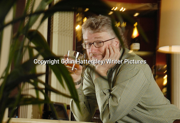 Author Iain Banks, pictured at Edinburgh's Balmoral Hotel 15/01/08 copyright Colin Hattersley/Writer Pictures contact +44 (0)20 822 41564 info@writerpictures.com www.writerpictures.com (Colin Hattersley/Writer Pictures)