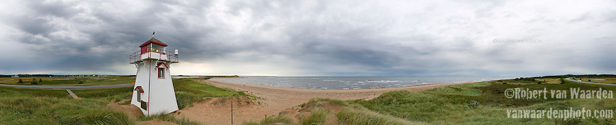 Panoramic image of Cavendish, Prince Edward Island
