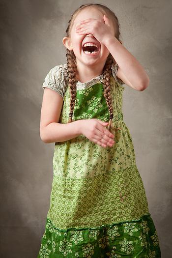 Five year old, Elliana Rammell. (Clark James Mishler)