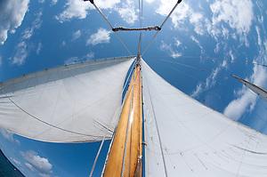 Sailing Aboard the Orion, San Juan Islands, Puget Sound, Washington (Roddy Scheer)