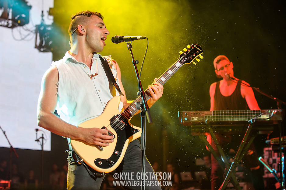 COLUMBIA, MD - May 30, 2015 - Jack Antonoff of Bleachers performs at the 2015 Sweetlife Festival at Merriweather Post Pavilion in Columbia, MD. (Photo by Kyle Gustafson / For The Washington Post) (Kyle Gustafson/For The Washington Post)