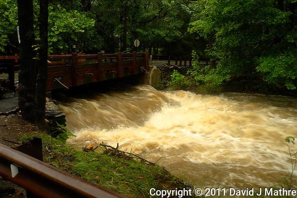 Rock Brook Flooding. Hurricane Irene. Image taken with a Leica X1 camera. (David J Mathre)