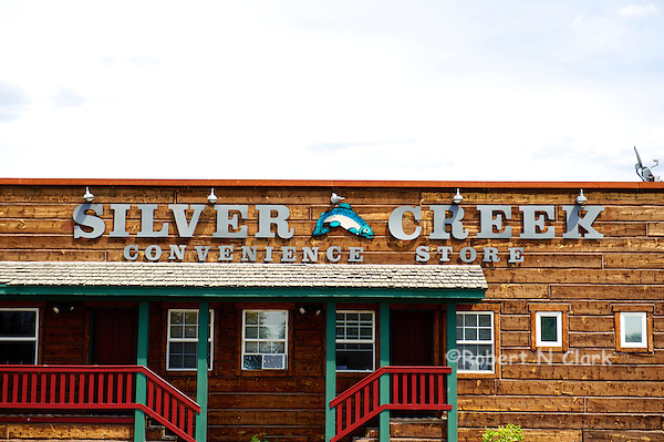 Silver Creek Store in Picabo, Idaho, a great local market, deli and fly shop (Bob Clark)
