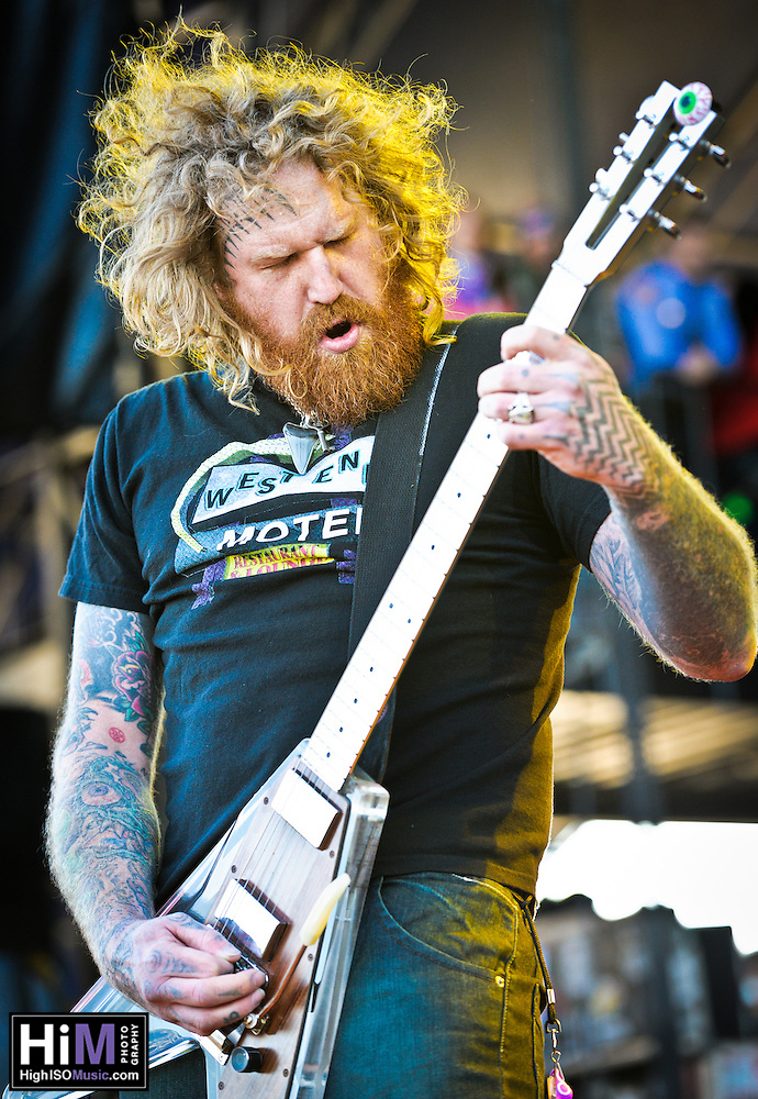 Mastodon playing at the 2011 Voodoo Festival in New Orleans, LA. (Golden G. Richard III)