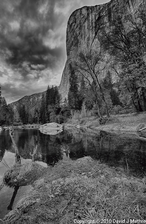 "Yosemite Valley Winter Storm Building. Nikonians ""Yosemite in Winter""2010 Workshop. HDR Composite. Images taken with a Nikon D3s and 14-24 mm f/2.8 (ISO 200, 16 mm, f/11) (David J Mathre)"