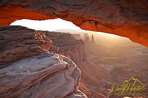 Sunrise, Mesa  Arch, Canyonlands National Park, Moab Utah