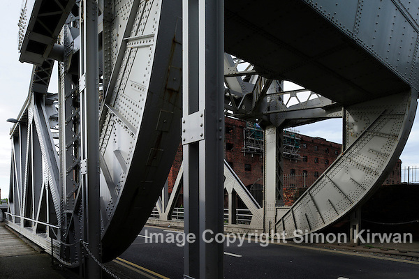 Stanley Dock Bascule Bridge, Regent Road, Liverpool - photo by Simon Kirwan