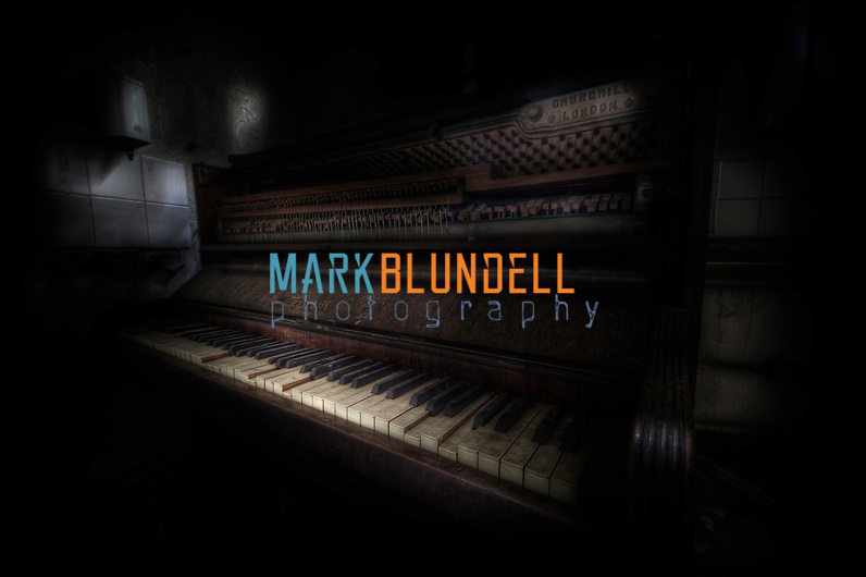 Abandoned piano at West Park Asylum (Mark Blundell)