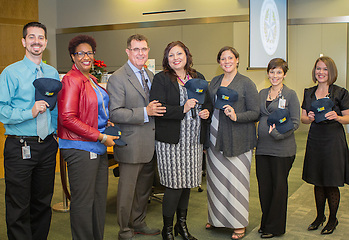 The ELA secondary team was recognized  by Superintendent Grier at the December Central office meeting. (Houston Independent School District)