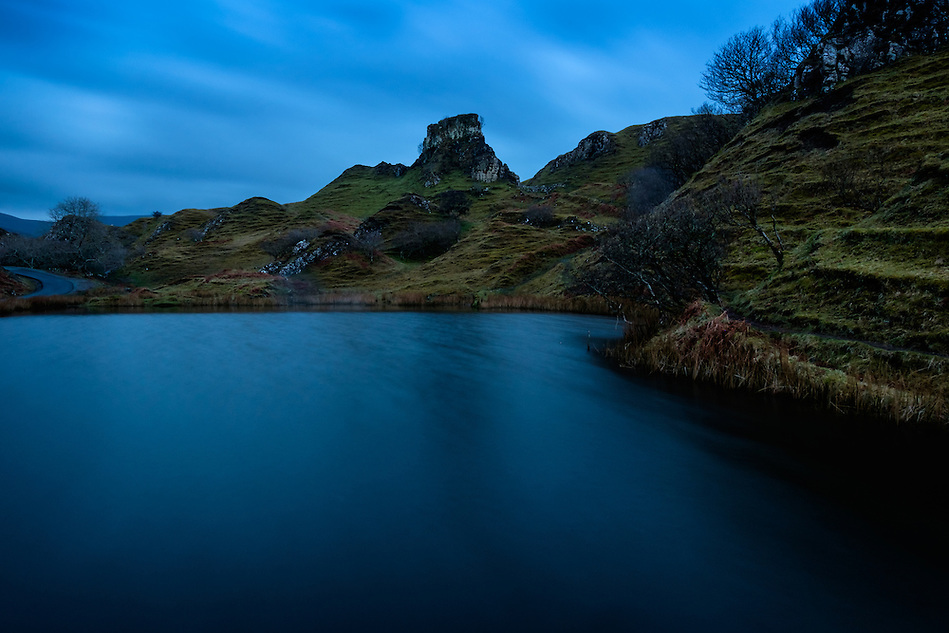SCOTLAND - CIRCA APRIL 2016: Fairy Glen in Skye an Island in Scotland (Daniel Korzeniewski)