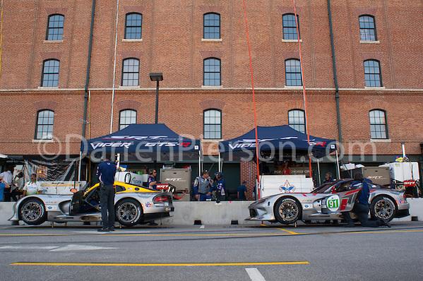 #91 SRT Motorsports SRT Viper GTSR: Kuno Wittmer, Dominik Farnbacher (Darren Pierson)