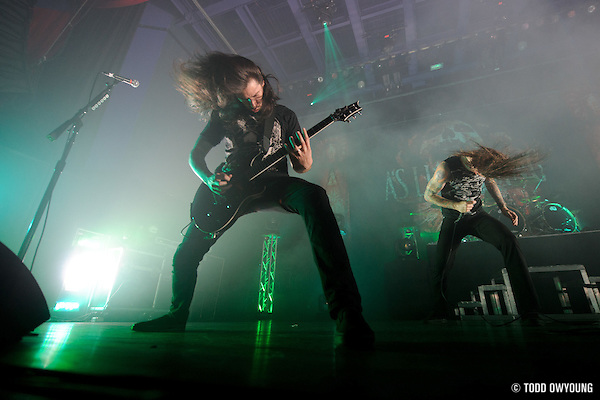 "Metal band As I Lay Dying performing at the Pageant in St. Louis on July 25, 2010 on ""The Cool Tour."" (Todd Owyoung)"