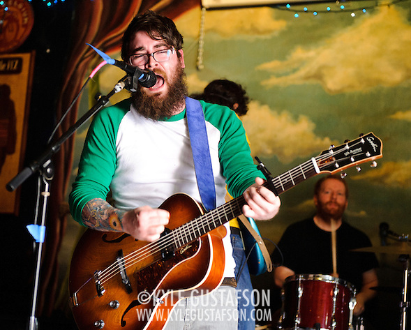 AUSTIN, TX - March 16th: Typefighter performs at the DC Does Texas showcase at Jovejoys as part of the 2011 South by Southwest Festival. (Photo by Kyle Gustafson) (Kyle Gustafson/For The Washington Post)