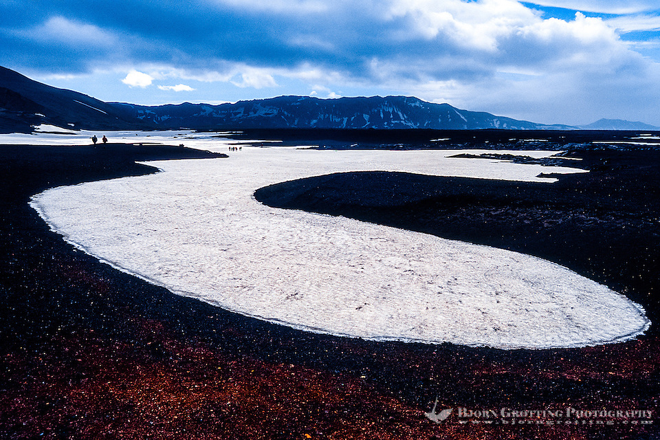 Iceland. Landscape in the Askja volcano. (Photo Bjorn Grotting)