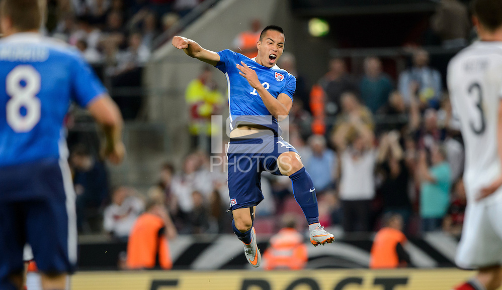 Cologne, Germany - Wednesday, June 10, 2015: The US Men's National team defeat Germany 2-1 in an international friendly match at Rhein Energie Stadion. (Thomas Eisenhuth/isiphotos.com)