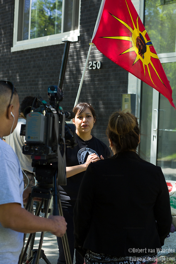 Energy East Winnipeg APTN