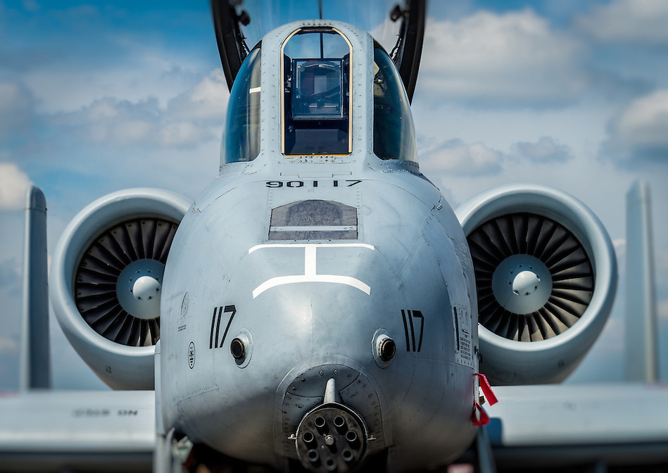 HOMESTEAD, FL - NOVEMBER 5, 2012: Close up of military aircraft, during the Wings over Homestead, taken Novermber 5 2012. (Daniel Korzeniewski)