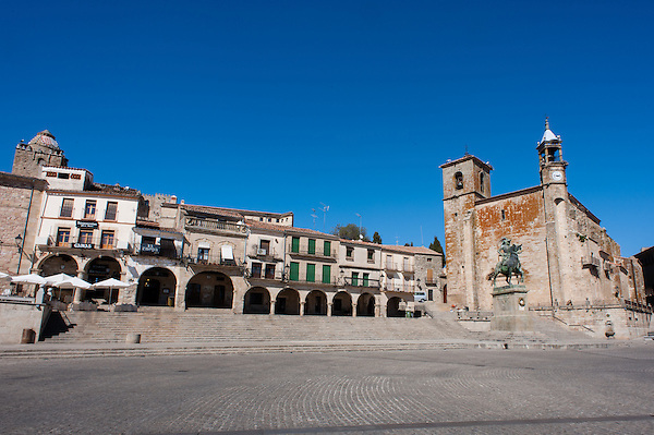 Trujillo main square (Spain) (Carlos Peñalba)