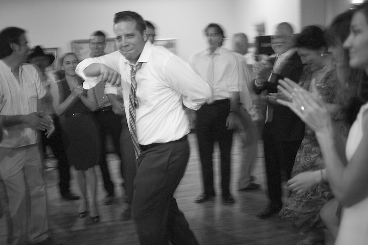 Megan and Michael Radigan's wedding on June 18, 2011 in at the San geronimo Lodge in Taos New Mexico. (Steven St. John)