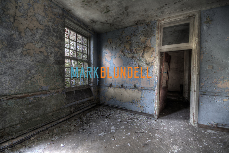 Empty room at Runwell Hospital during our urban exploration (Mark Blundell)