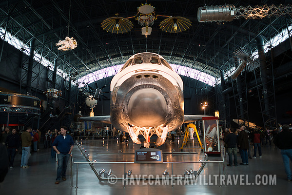 Space Shuttle Discovery at the Smithsonian Air and Space Museum Nose L047171245 Smithsonian National Air and Space Museum Udvar Hazy Center