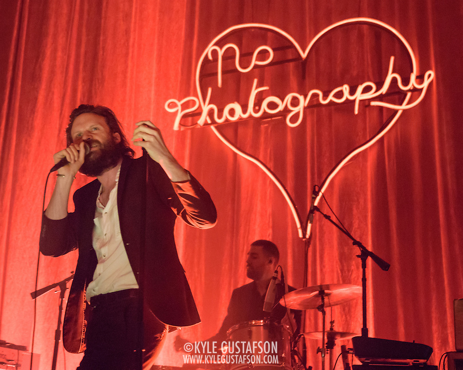 WASHINGTON, DC - March 28, 2015 - Rockville MD's Joshua Tillman, also known as Father John Misty, performs at the 9:30 Club in Washington, D.C. Tillman released I Love You, Honeybear,  his second solo album under the Father John Misty moniker, in February. (Photo by Kyle Gustafson / For The Washington Post) (Kyle Gustafson/For The Washington Post)