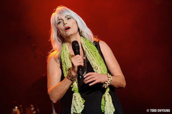 Emmylou Harris perfroming at Lilith Fair 2010 at Verizon Wireless Amphitheater in on July 16, 2010, 2010 (TODD OWYOUNG)