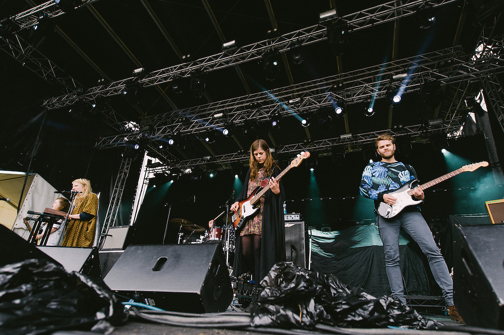 Photos of Mammút performing live at Secret Solstice Music Festival 2014 in Reykjavík, Iceland. June 21, 2014. Copyright © 2014 Matthew Eisman. All Rights Reserved (Matthew Eisman/Photo by Matthew Eisman)